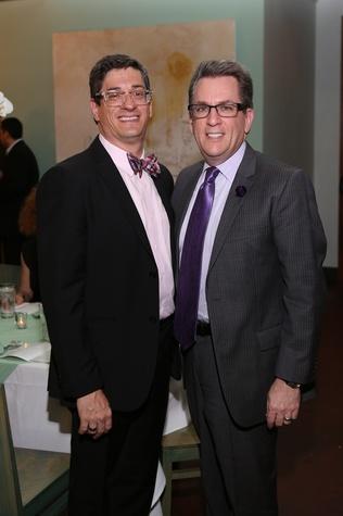 2 Sam Jacobson, left, and Carl Josehart at TUTS' Vine & Dine November 2014