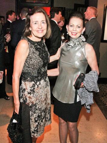 Fund for Teachers dinner, October 2012, Andrea White, Danielle Ellis