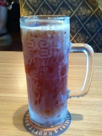 twin peaks beer mug