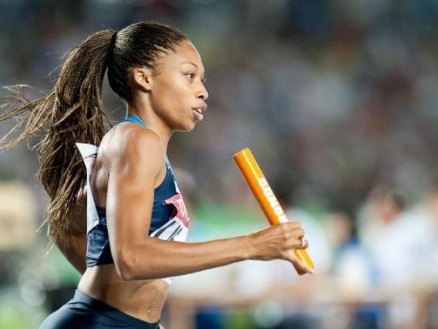 Allyson Felix, 2012 Olympics, London