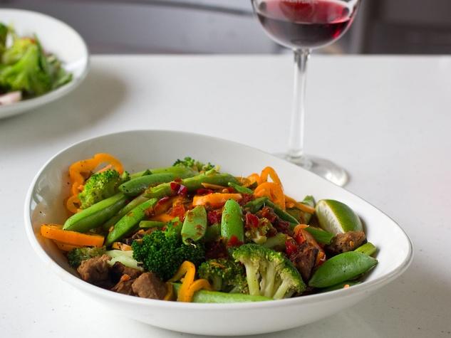 LYFE Kitchen, beef tips, Tal's Grain Bowl