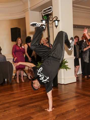 Member of Fly Dance Company at the Young Audiences of Houston Gala April 2014