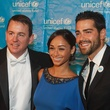 183 UNICEF Houston gala September 2013 Barron Segar, from left, Cara Santana and Jesse Metcalfe