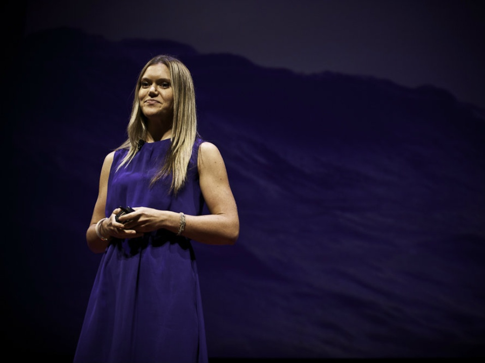 TEDxSMU speaker Katie Spotz