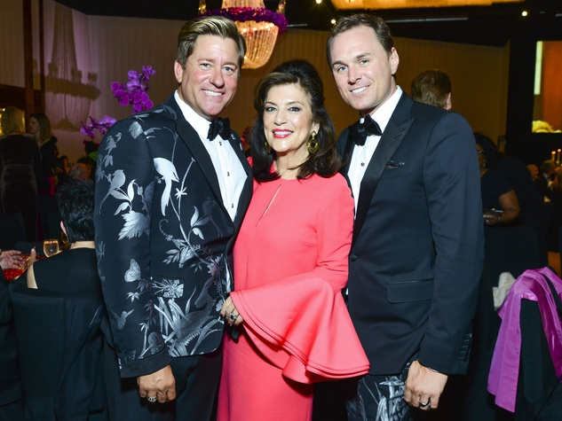 24 Brian Teichmann, from left, Dancie Ware and Andrew Cordes at the Houston Children's Charity Gala November 2013