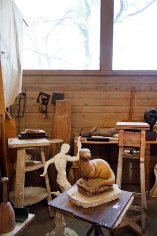 Charles Umlauf's studio