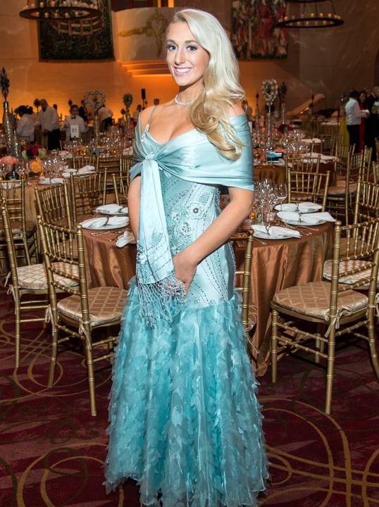 Houston, Ballet Ball gowns, Feb 2017,Sara Puryear in vintage Lily Rubin