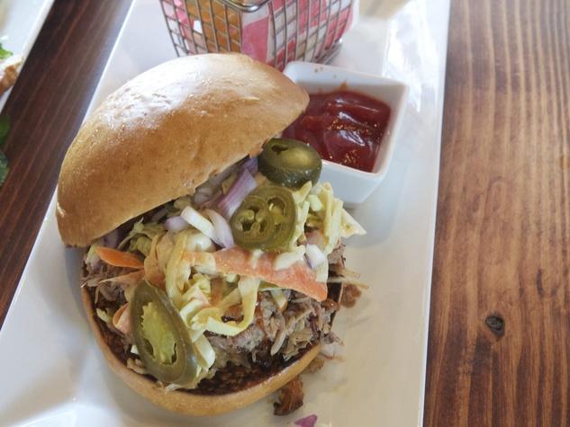 Urban Kitchen pulled pork sandwich