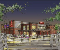 Rendering of new Alamo Drafthouse location in Cedars neighborhood