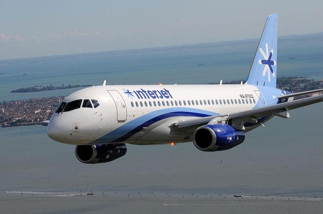 Interjet airplane