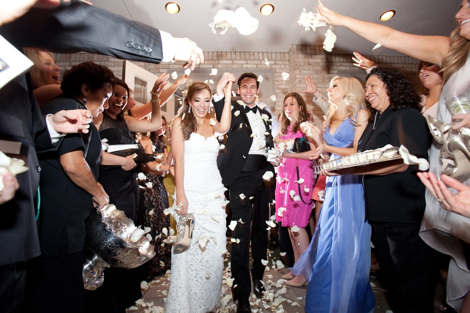 Spectacular weddings, petal toss, shelby, Katy Mayell, Mathew Ellis, Feburary 2014
