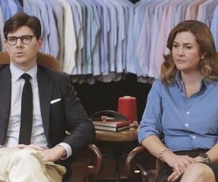 David Hamilton and Kelly Hamilton coowners of Hamilton Shirts
