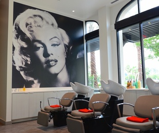 Marilyn Monroe Spa interior
