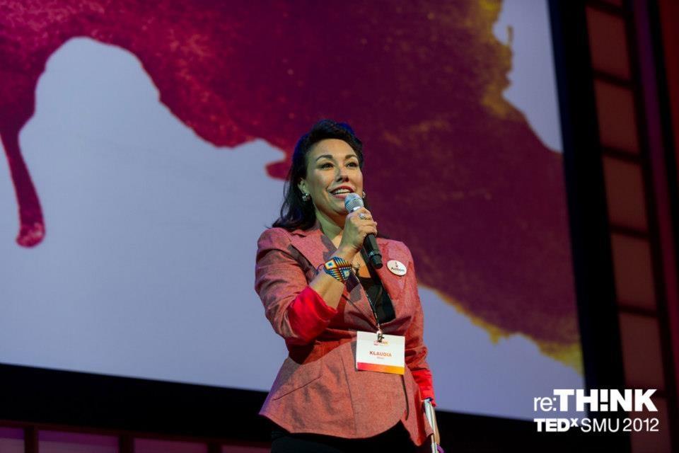 Klaudia Oliver at TEDxSMU: ReThink