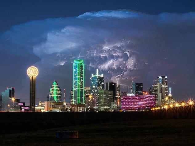 Dallas thunderhead cloud