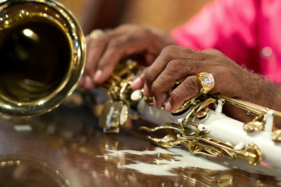 Austin Photo: News_photo essay_ashley carter_texas blues musicians_July 2012_Grady Gaines 2