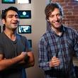 Kumail Najiani and Thomas Middleditch comedians