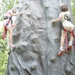 Houston, Shelby, Texas Childrens Ambassadors Party, May 2015, rock climbing wall