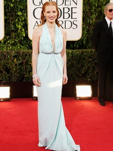 Golden Globe Awards, Jessica Chastain, January 2013