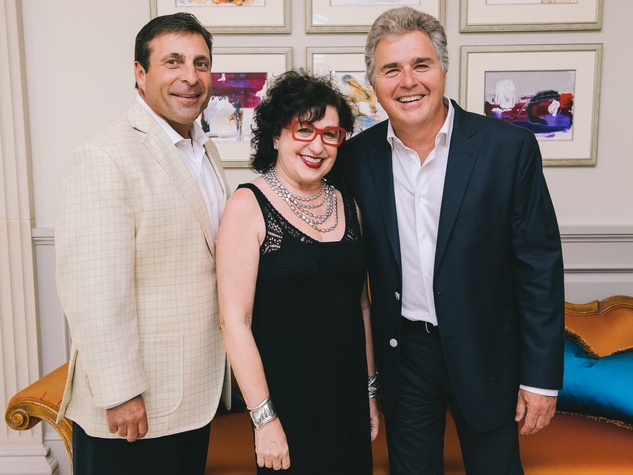1 Steve Tyrell CD launch party June 2013 Johnny Carrabba , Roz Pactor, Steve Tyrell
