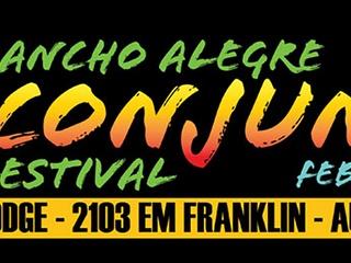 banner for the Rancho Alegre Conjunto Festival 2014
