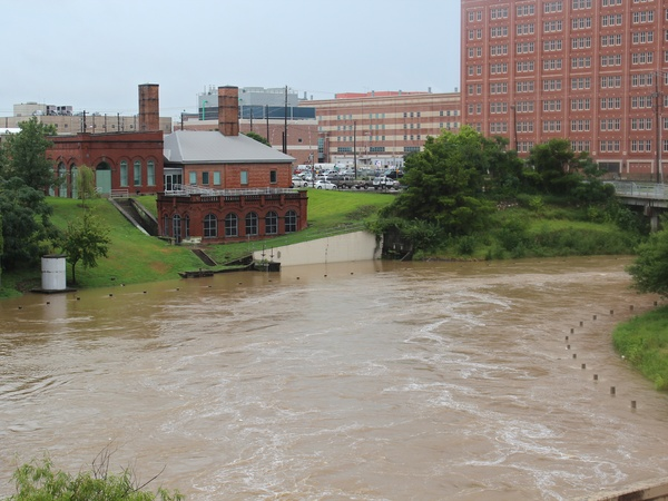Buffalo Bayou_flash flood_rain