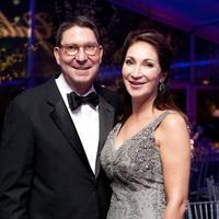 28 Scott and Soraya McClelland at Gala on the Green February 2014