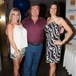 Kristine Huffman, John Jenkins and  Event Emcee, Gina Miller, taste of the NFL