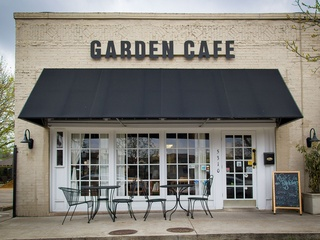 Exterior of Garden Cafe in Dallas