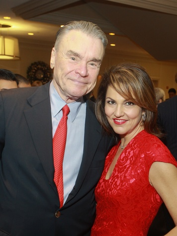 84 Gordon Bethune and Jessica Rossman at the World AIDS Day luncheon.