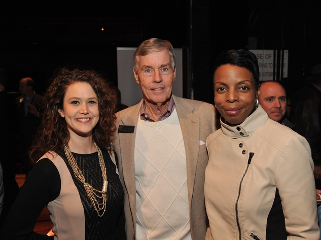 Laurette Cañizares, from left, Jack Christie and Deanea LeFlore at the Houston Arts Alliance Reception for the Arts January 2014