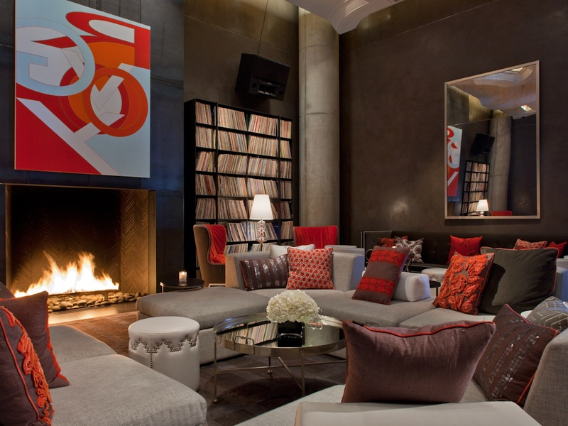 Living Room At The W Culturemap Austin