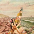 Galveston Brewing Co. ad with mermaids and beer