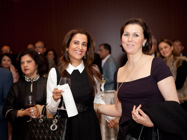 News_Asia Society preview party_January 2012_Pinder Gill_Donatella Benckenstein