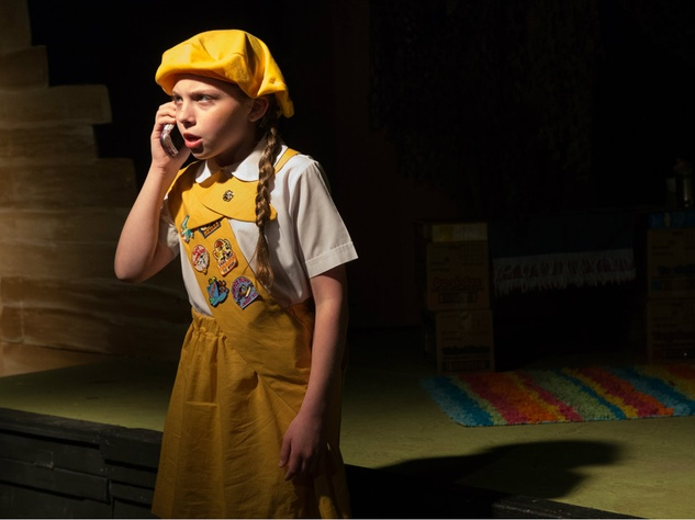 """Lynley Glicker as Dana in """"Daffodil Girls"""" at Fun House Theatre and Film"""