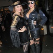 6 Hira Khan, left, and Ashley Wilson at Hotel ZaZa's Halloween party October 2013