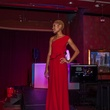 18 BEAZ model in Danny Nguyen Couture at the Beat the Holiday Blues event December 2014