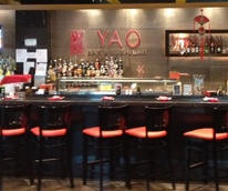 Yao Bar & Sushi Bar, downtown, Houston Pavilions