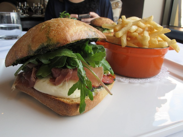 Ruthie, where to eat right now, December 2012, Etoile, Prosciutto Sandwich