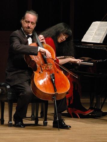 Emerson String Quartet David Finckel interview April 2013 recital