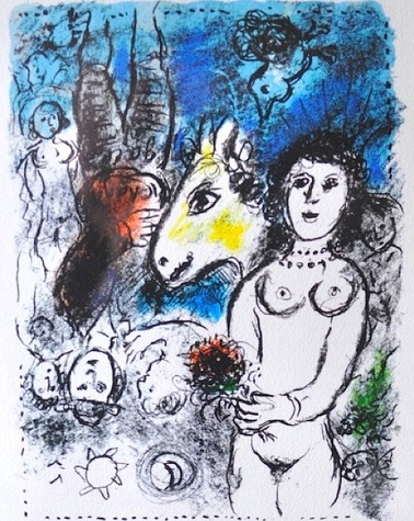 Michael Brown art Marc Chagall