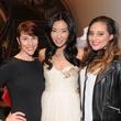 Lara Kopriva, Yuan Yuan Zhang, Jasmine Long at Elizabeth Anthony Passion for Fashion party