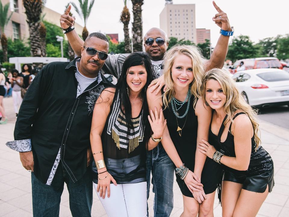 1 Beyonce Houston concert crowd July 2013 Ronnie Walker, Lanette Byler, Chris Lofton, McKaylie Phillips, Brenna Byler