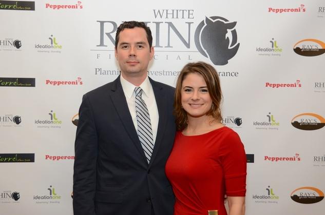 49 Claudio Gutierrez & Melissa Huntermark at the Red Carpet Soiree November 2014