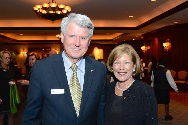 Joe and Kathy Ridley at the Irish Gala November 2014