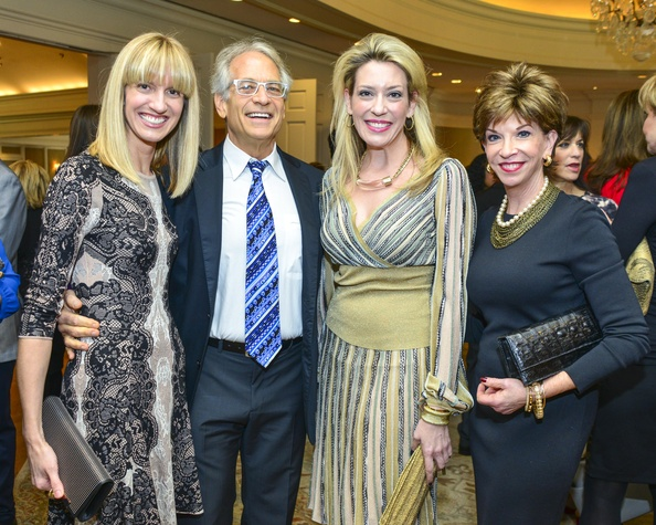 14 Chris Goins, from left, Mickey Rosmarin, Mauri Oliver and Vicki Rizzo at the Fashion Retailers luncheon October 2013