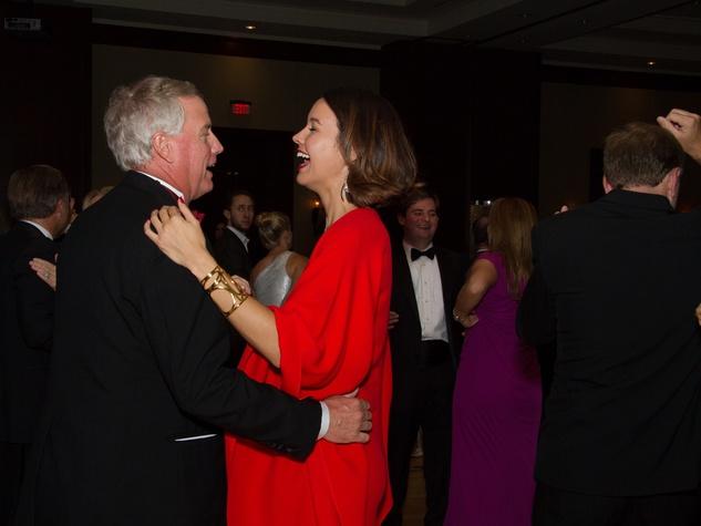Bob Hogan and Carrie Colbert at the Big Brothers Big Sisters Gala September 2014