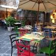 7 Jane Howze Italy trip Amalfi Coast hotel September 2014 charming dining settings in Amalfi