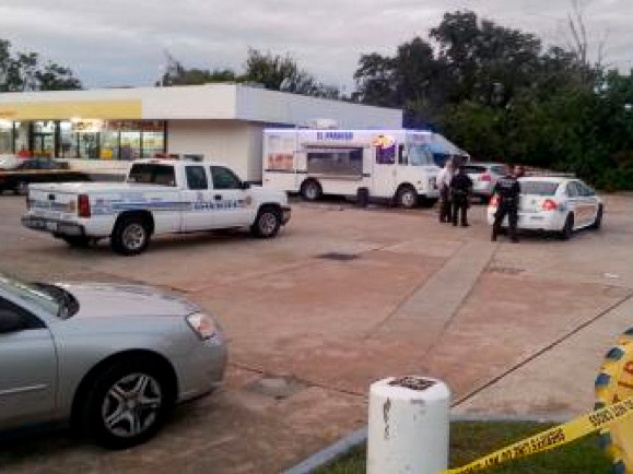 taqueria food truck owner shot 8100 block of Fairbanks North Houston Road October 2013 RUN FLAT