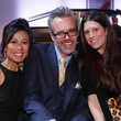 Chau Nguyen, from left, Michael Pearce and Ally Shell at Fashion Woodlands with Theresa Roemer March 2015